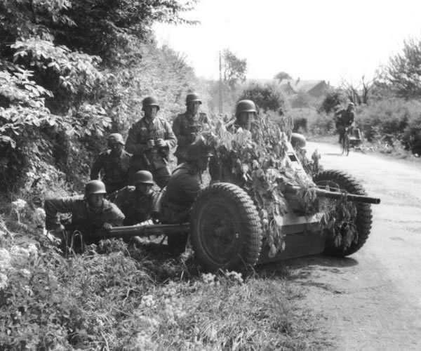 German 3.7 cm Pak 36 - Flames of War - Jimbo's Workbench