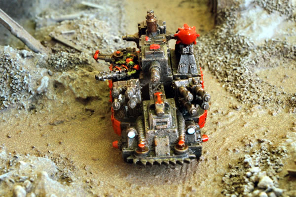 Epic Armageddon Orks Miniatures Gallery