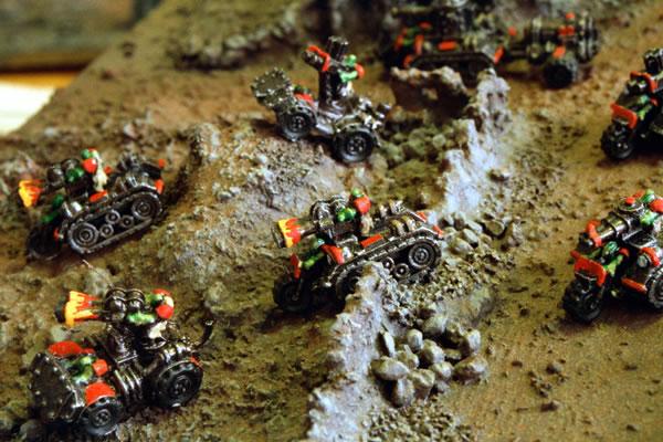 Bikez 'n' Buggies - Orks - Epic 40000 Miniatures Gallery