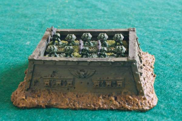 Epic 40000 Space Marine Miniatures Gallery