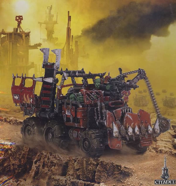 How Much Is A Paint Job >> Ork Trukk- Jimbo's Workbench