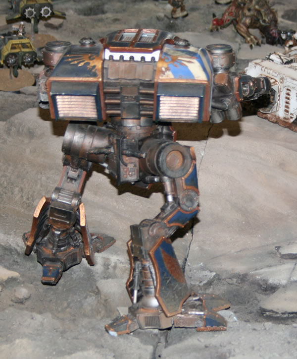 Forgeworld Warhound Titan from the Forgeworld Displays at the Forge World Open Day 2009.