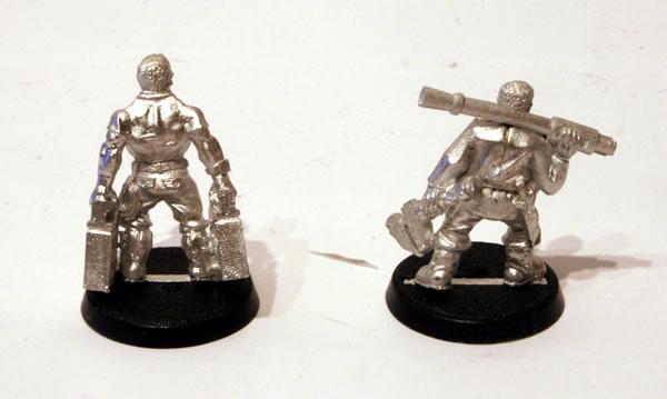 Imperial Guard Tank Crew