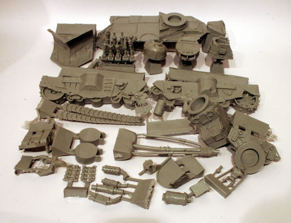 Forge World Grot Mega Tank