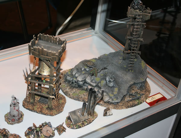 Skaven scenery from GamesDay 2010.