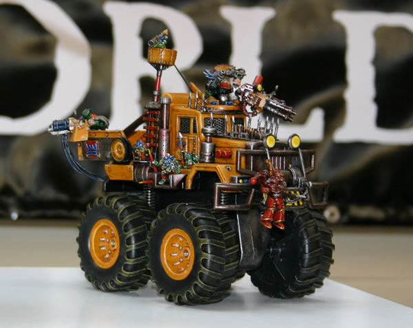 Ork Trukk from George Dellapina's collection.