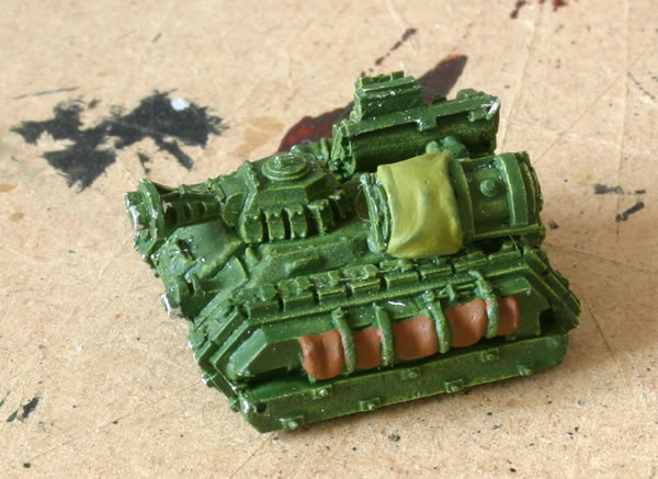 These models are starting off from Ork Flakwagons.