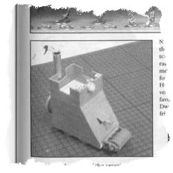 motorised Siege Tower from WarMag #1