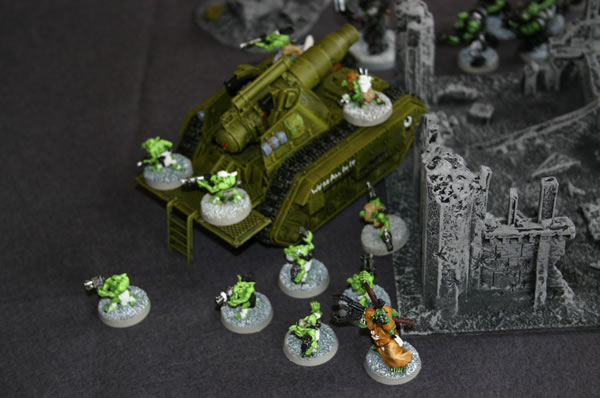 battle report photograph