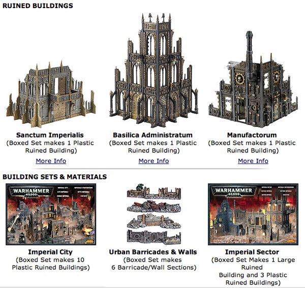 Cities of Death Buildings