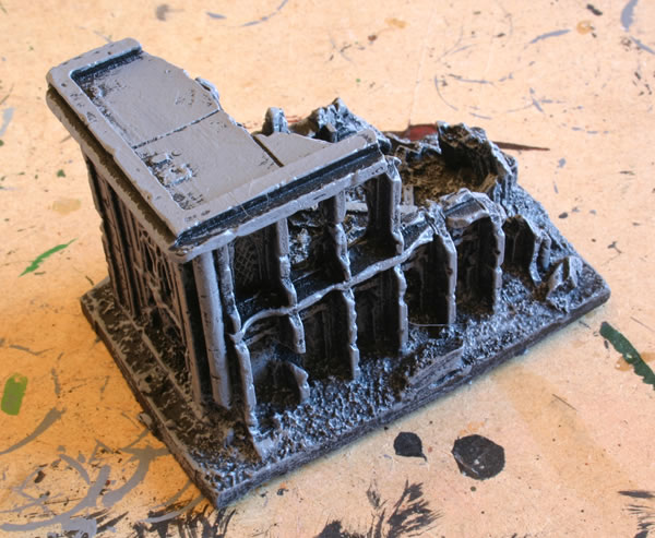 Forge World Epic Ruined Librarium