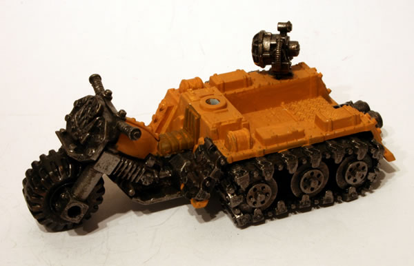 How To Remove Ink From Leather >> Ork Wartrakk - Jimbo's Workbench