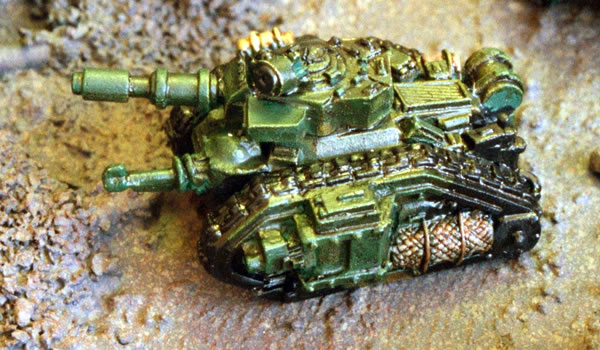 The Mailed Fist Imperial Guard Tanks Epic 40000 Miniatures