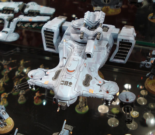Tau Hammerhead Gunship with Ion Cannon