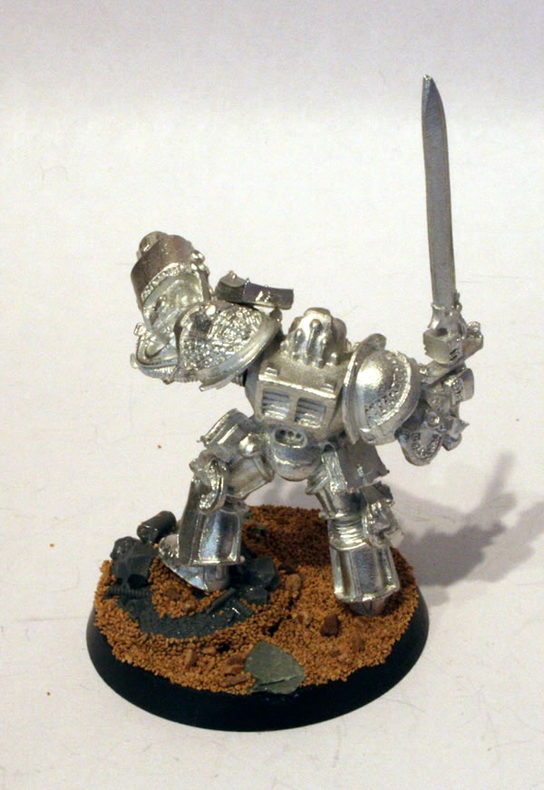 Grey Knight Terminator with Psycannon