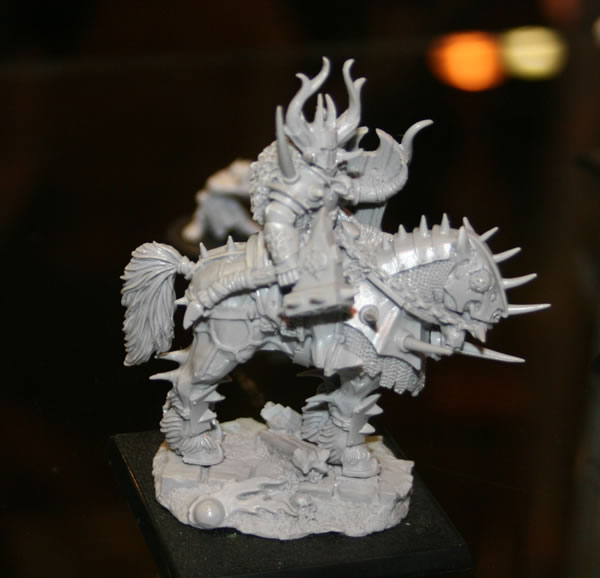 Chaos Warrior on display at GamesDay 2008.
