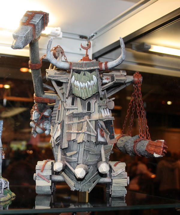 Orc Siege Engine from the displays at GamesDay 2008