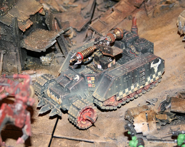 Ork Gunwagon with Big Zzappa