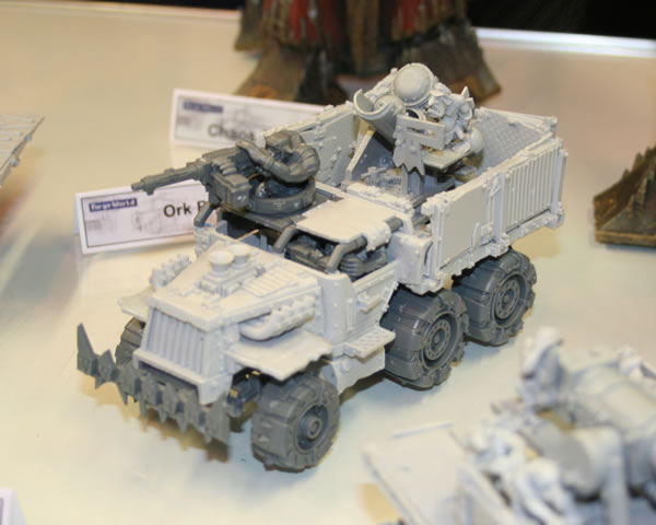 Forge World Ork Trukk with Enclosed Cab