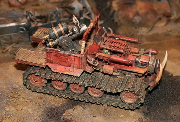 Forge World Ork Big Trakk - Jimbo's Workbench