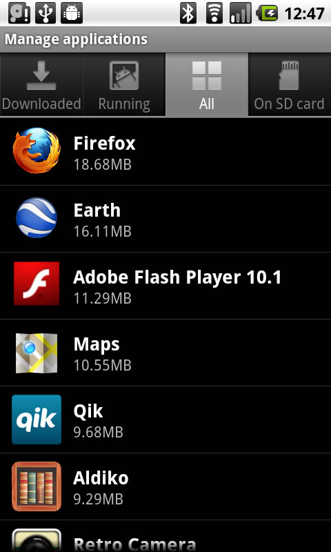 how to delete unwanted apps on my android phone